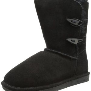 BEARPAW Youth Girl's Abigail Winter Boot size 13